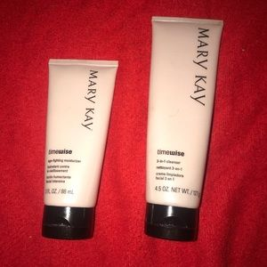 Mary Kay Face Routine